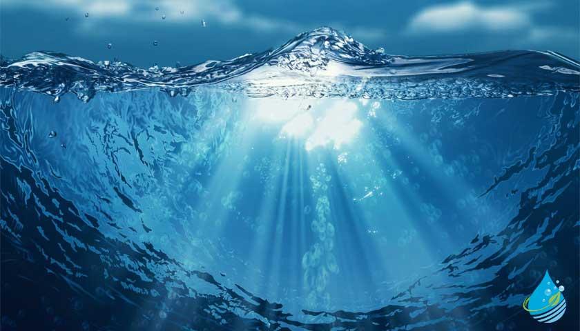 denizde su